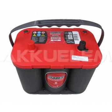 Optima Red 12V 50Ah 815A autó akkumulátor BAL+ *S - 4,2