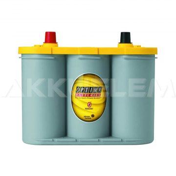 Optima Yellow 12V 55Ah 765A autó akkumulátor BAL+ *S - 4,2