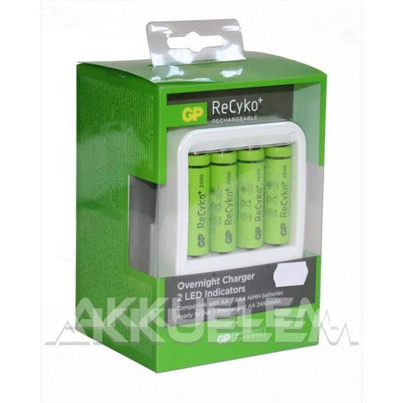 GP PowerBank akkutöltő PB420 4db GP 2500mAh AA akkumulátorral