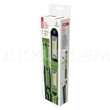 Tölthető szerelőlámpa 2x3W COB + 1W LED P4535