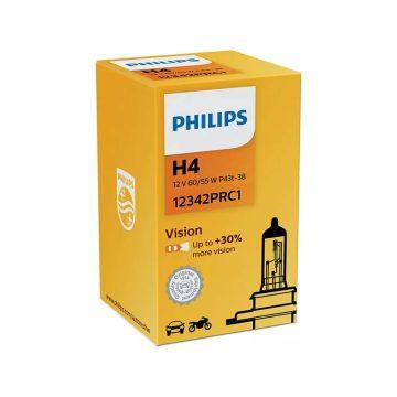 Philips Vision H4 12V autó fényszóró izzó 1 db