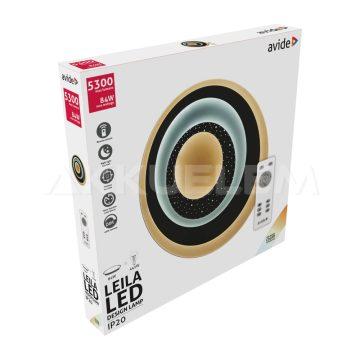Avide Design LEILA mennyezeti lámpa 84W távirányítós
