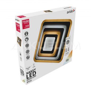 Avide Design NANSY mennyezeti lámpa 92W távirányítós