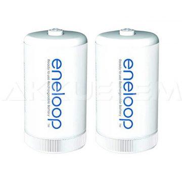 Átalakító R6->R20 AA->D 2db Eneloop BQ-BS1E (ár/bliszter)