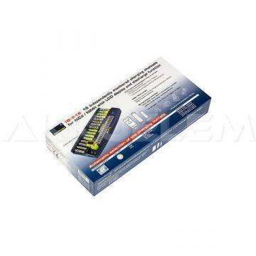 AccuPower IQ216 AA/AAA 16db 9V 2db Ni-MH Ni-Cd akkutöltő