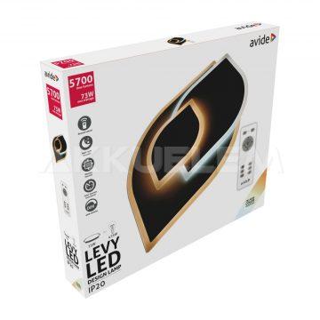 Avide Design LEVY mennyezeti lámpa 5700lm távirányítós