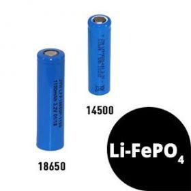 LiFePO4 akkuk (3,2V)