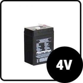 4V zselés akkumulátorok