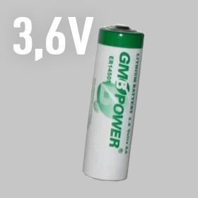 3.6V lítium elemek (ER)
