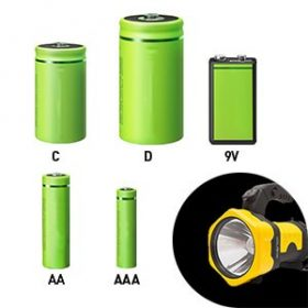 Elem méretű akkumulátorok