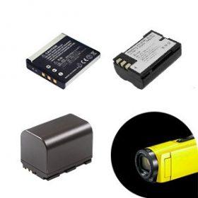 Kamera akkumulátorok
